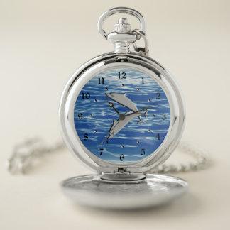 Reloj De Bolsillo Juego del delfín