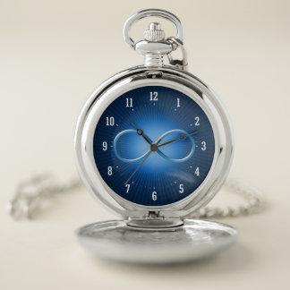 Reloj De Bolsillo La ciencia gobierna los regalos azules del friki