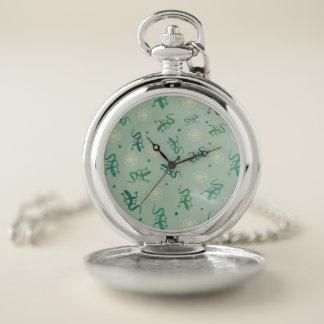Reloj De Bolsillo Lagarto