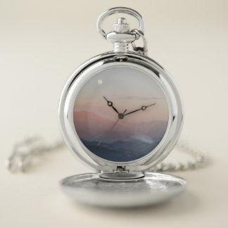 Reloj De Bolsillo Luna de la montaña