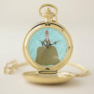 Reloj De Bolsillo Marie color de rosa