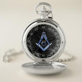 Reloj De Bolsillo Mentes masónicas (BlueSwish)