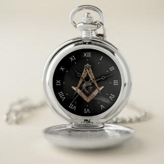 Reloj De Bolsillo Mentes masónicas (GoldenSwish)