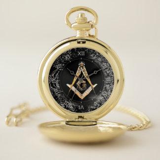 Reloj De Bolsillo Mentes masónicas (YellowishSwish)