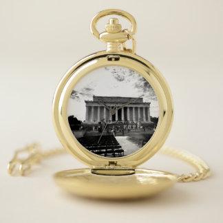 Reloj De Bolsillo Monumento de Lincoln