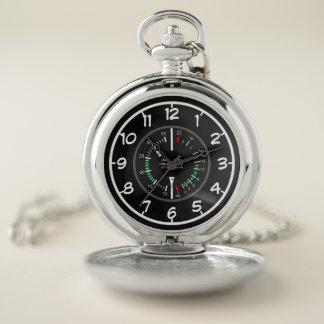 Reloj de bolsillo multíple del indicador de