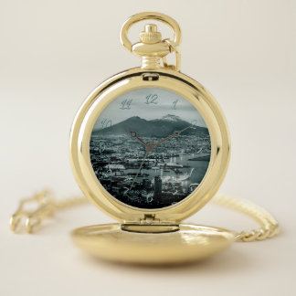 Reloj De Bolsillo Nápoles-Vesuvio