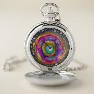 Reloj De Bolsillo Nuevo tiempo de la estrella del planeta