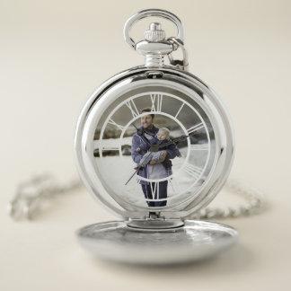 Reloj De Bolsillo Número romano de la foto de encargo