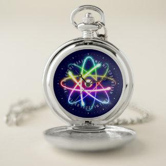 Reloj De Bolsillo Nunca confíe en a tiempo los regalos divertidos de