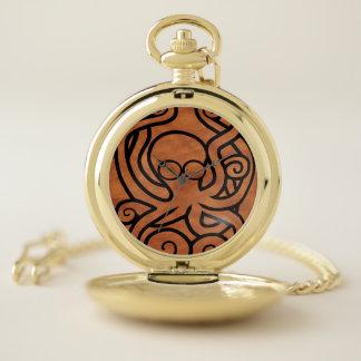 Reloj De Bolsillo Octo-Doodle-Pus Brown