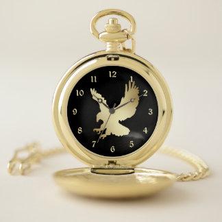 Reloj De Bolsillo Oro American Eagle