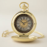 Reloj De Bolsillo Oro personalizado Pocketwatch del Victorian de