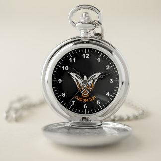 Reloj De Bolsillo Pájaro céltico