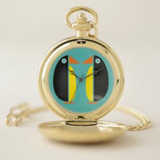 Reloj De Bolsillo Pares del pingüino