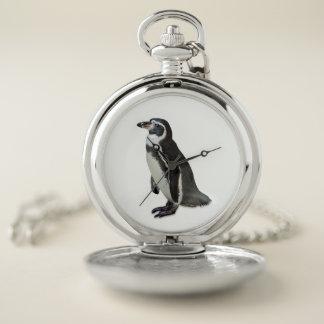 Reloj De Bolsillo Pingüino
