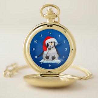 Reloj De Bolsillo Pingüino del bebé