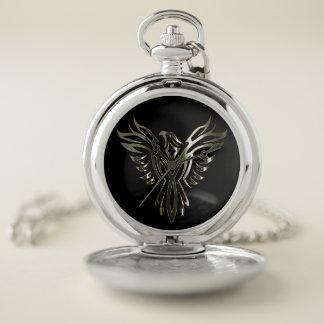 Reloj De Bolsillo Plata metalizada Phoenix