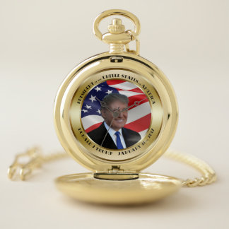 Reloj De Bolsillo Presidente Trump Inauguration Date