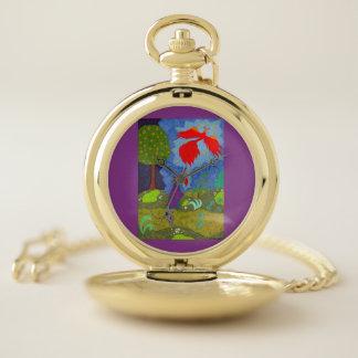 Reloj De Bolsillo Príncipe Ivan y el Firebird
