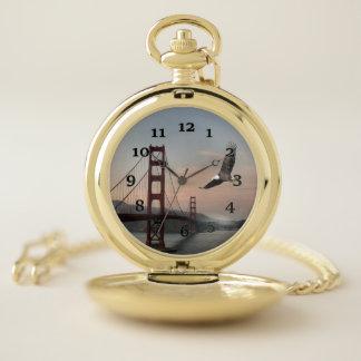 Reloj De Bolsillo Puente Golden Gate