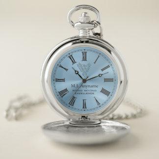 Reloj De Bolsillo Regalo de levantamiento del retiro de Phoenix en