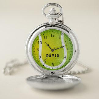Reloj De Bolsillo Regalos del deporte del tiempo el | del tenis de