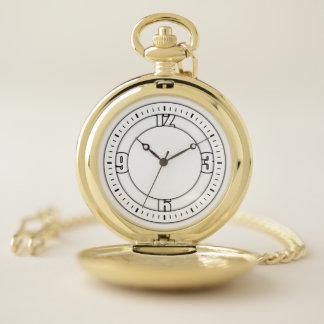 """Reloj De Bolsillo """"Reloj de bolsillo elegante del efecto 3D"""""""