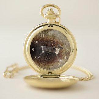 Reloj De Bolsillo Reno - caribú de Bull