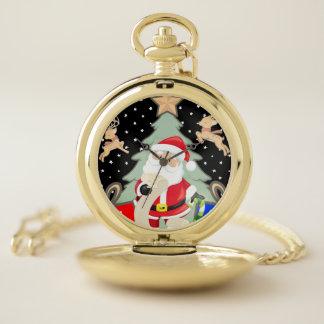 Reloj De Bolsillo Santa tiene una lista