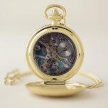 Reloj De Bolsillo Steampunk Cogs & Gears estilo industrial victorian