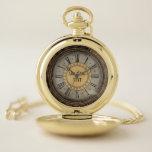 Reloj De Bolsillo Steampunk Pocketwatch oro victoriano personalizado