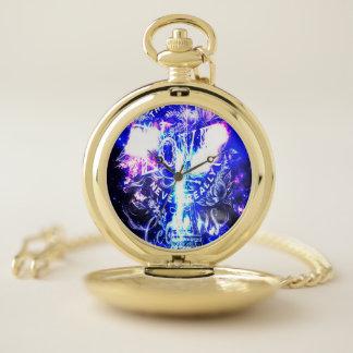 Reloj De Bolsillo Sueños parisienses iridiscentes del th unos que