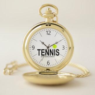 Reloj De Bolsillo Tenis
