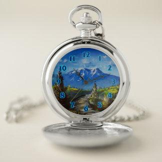 Reloj De Bolsillo Trayectoria de la montaña