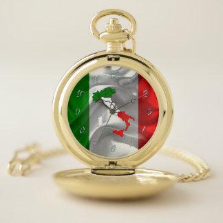 Reloj De Bolsillo Tricolor italiano