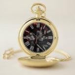 Reloj De Bolsillo Turno de noche: VSW Gold Pocket Watch