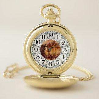 reloj de bolsillo viejo de Rotterdam