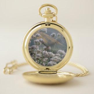 Reloj De Bolsillo Wildflowers