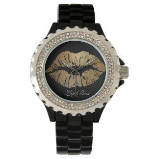 Reloj de Boss del labio