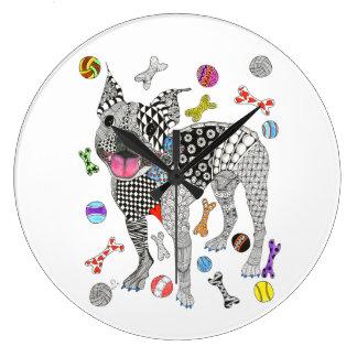 Reloj de Boston Terrier