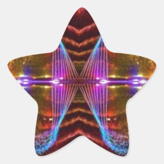 Reloj de cerca 2 CARAS sonrientes: Gráficos de la Pegatinas Forma De Estrella