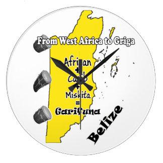 Reloj de día de acuerdo de Garifuna