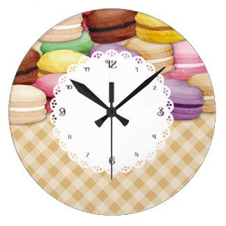 Reloj de encargo de la cocina de las galletas de