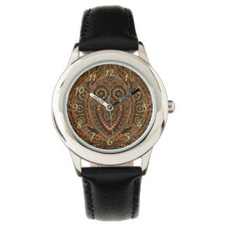 Reloj de encargo de los niños del vintage de