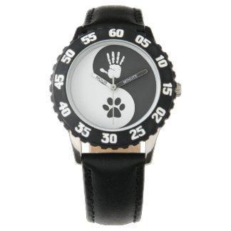 Reloj de HandToPaw (con grandes números)