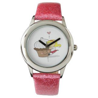 Reloj de Hugger de la magdalena