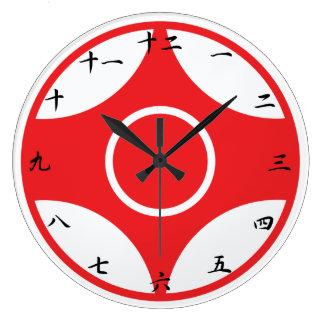 Reloj de Kanku del karate de Kyokushin