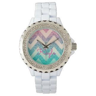 Reloj de Kayla Chevron