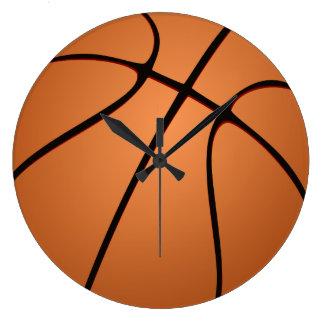 Reloj de la bola del baloncesto
